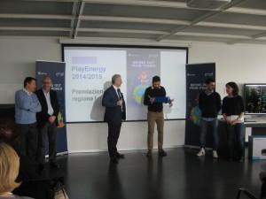 premiazione PlayEnergy milano 2016
