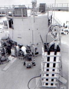 reattore in costruzione
